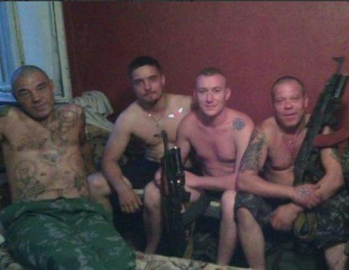 "Russian ""vacationers"" in Ukraine"