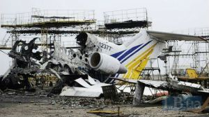 Devastation at Donetsk airport caused by the Russian aggression in Donbas, Ukraine (Image: LB.ua)