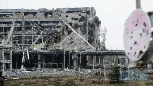 Ruins of the Donetsk International Airport in the Donbas region of Ukraine devastated by heavy shelling by the mercenary and regular troops of the Russian Federation (Image: LB.ua)
