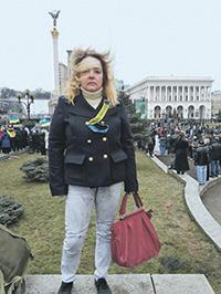 Olga Kurnosova, a leader of the Russian political refugees in Kyiv (Image: ng.ru)