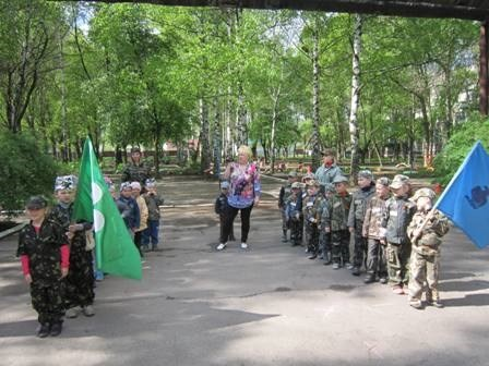 """Military exercises"" for daycare children in the city of Gorlivka in the Russia-occupied Donbas (Image: Gordon.ua)"