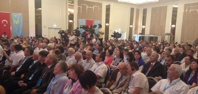 The Second World Congress of Crimean Tatars in Ankara, Turkey. August 1, 2015 (Image: QHA)