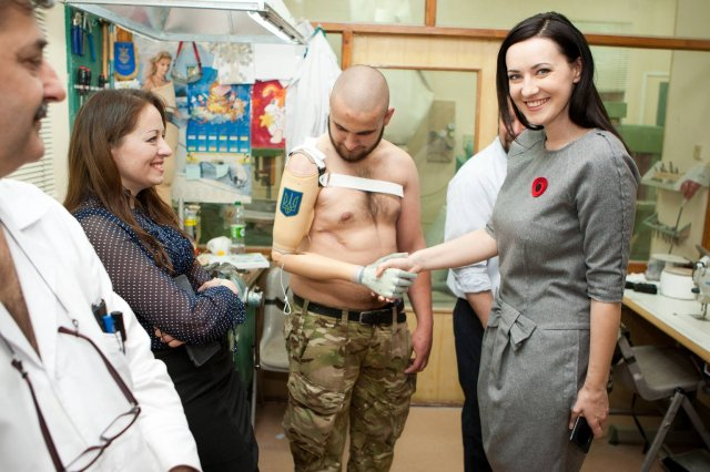 The Ukrainian Prosthetics Assistance fund on an experience echange mission between US, Canadian, and Ukrainian colleagues