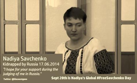 Nadiya Savchenko - Kidnapped by Russia 17.06.2014 #FreeSavchenko