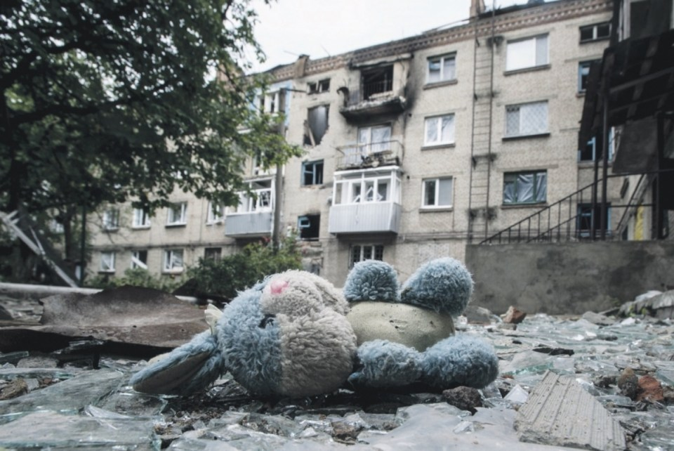 Russia's military aggression in Donbas devastated Ukrainian territories under the Russian occupation and near the frontline (Image: Novosti Segodnia)