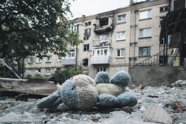 Russia's military aggression in the Donbas devastated and empoverished Ukrainian territories under the Russian occupation (Image: Novosti Segodnia)