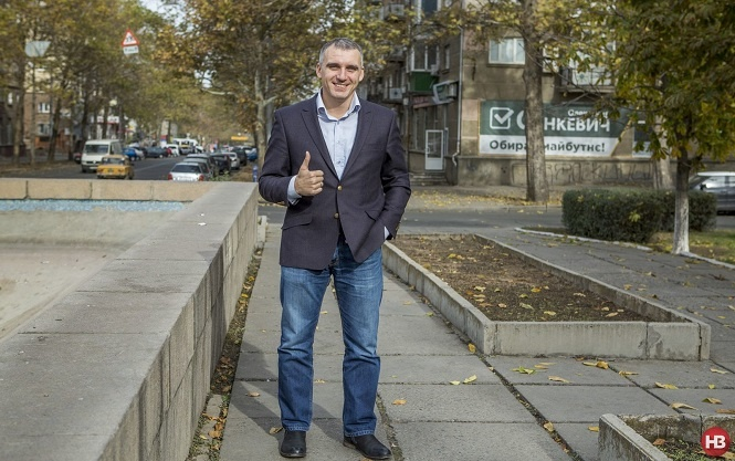 Oleksandr Senkevych, a 33-y.o. director of a Ukrainian-American IT company, is now Mykolayiv's mayor