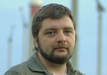 """Maksym Butkevych, coordinator of project """"Without Borders"""" (Image: postup.lg.ua)"""