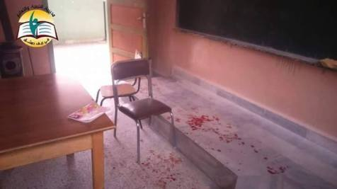 A Russian massacre of Syrian school children. Damascus, Syria, December 2015. (Image: Social media)