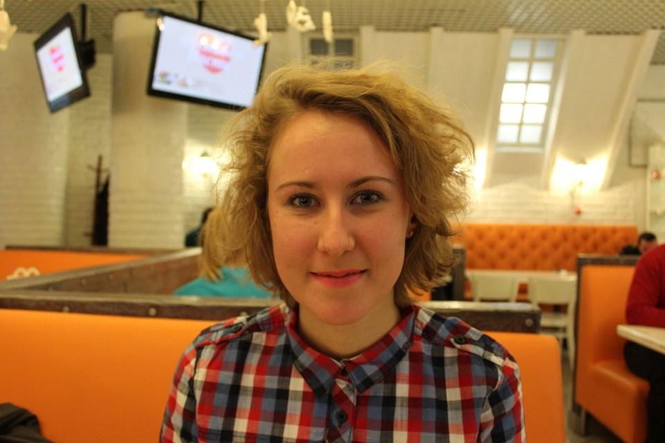 Kateryna Gladka. Photo Iverson Ng.