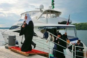 Russia Church Kirill yacht