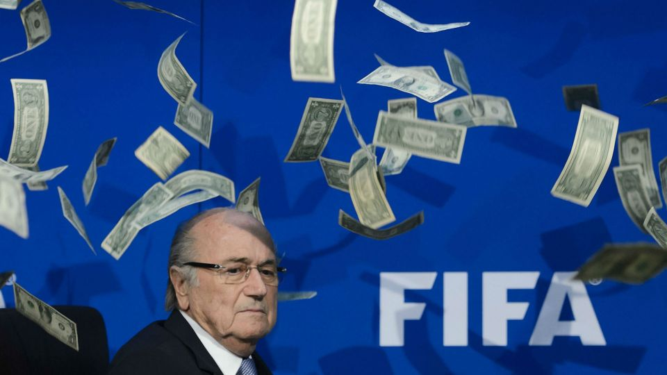 Sepp Blatter FIFA money