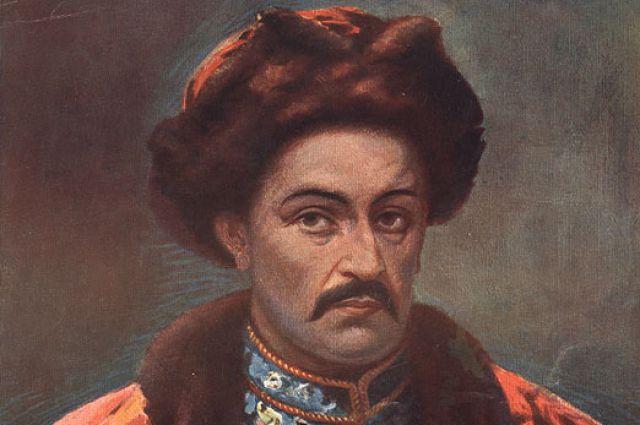 Ivan Mazepa Ukraine hetman portrait