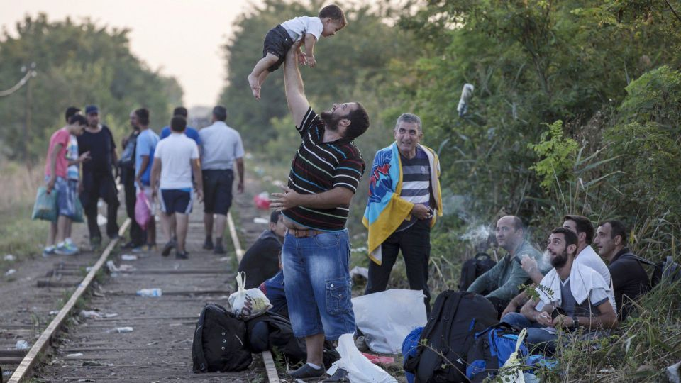 refugees Hungary border