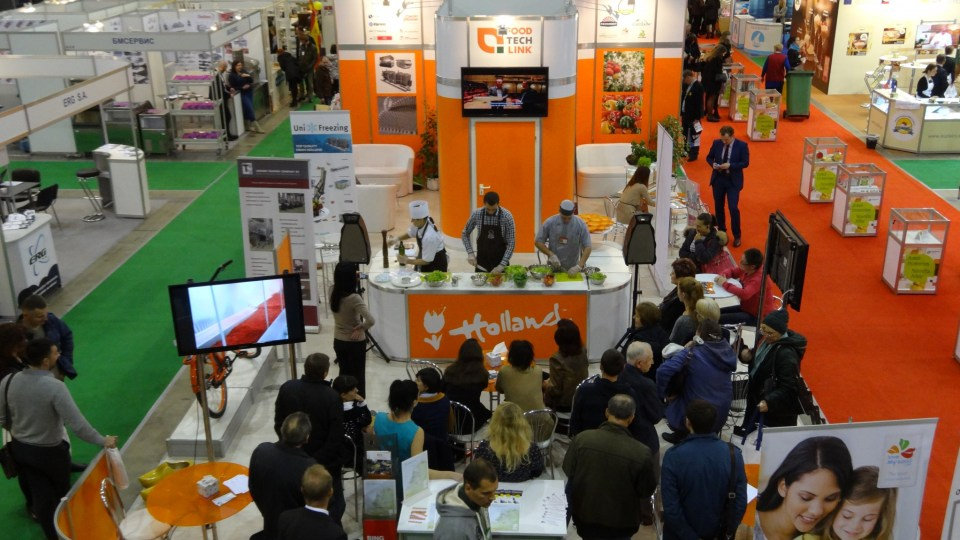 Holland Pavilion at World Food Green Produce Ukraine 2015.
