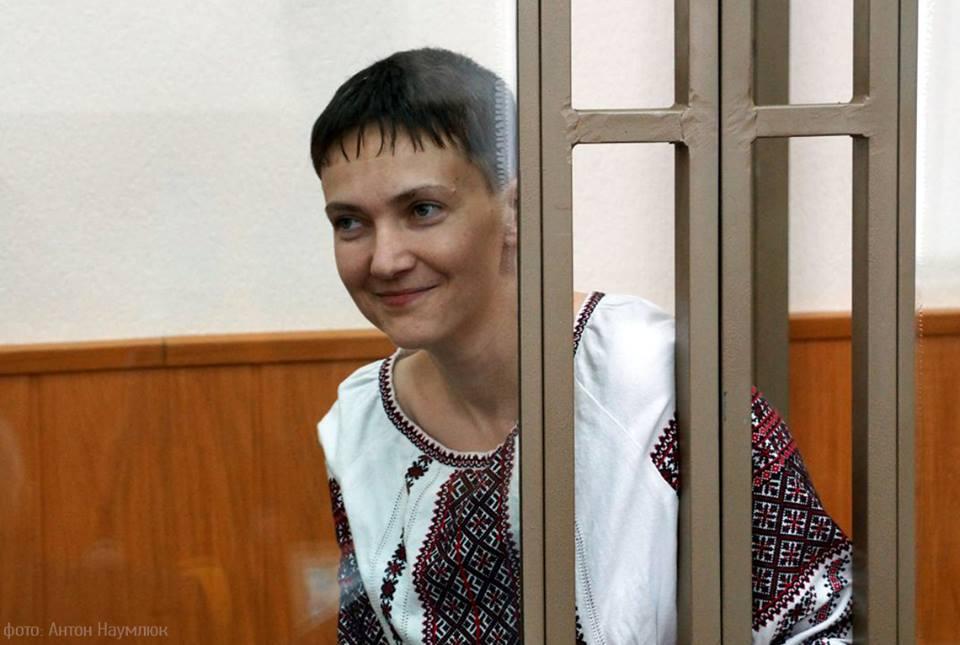 Nadiya Savchenko in Russian court on 3 March 2016. Photo by Anton Naumliuk