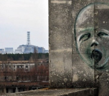 Ruins of the Chornobyl nuclear power station. Photo: belaruspartisan.org