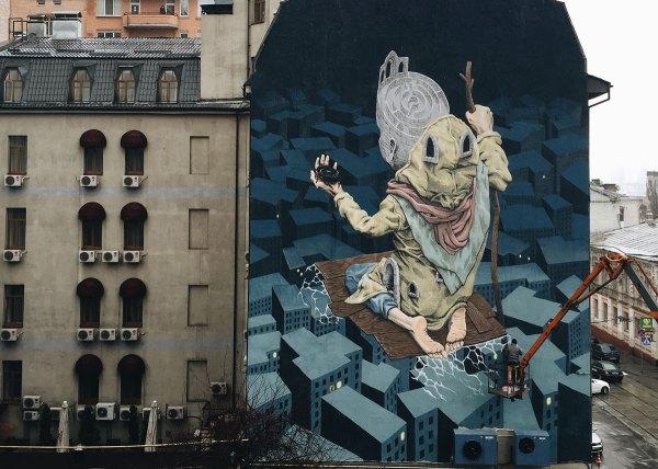 Famous Urban Mural Art