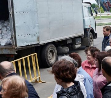 As a result of the Russian occupation, about 1.5 million of Donbas residents are at risk of hunger reported the United Nations press service in April 2016.
