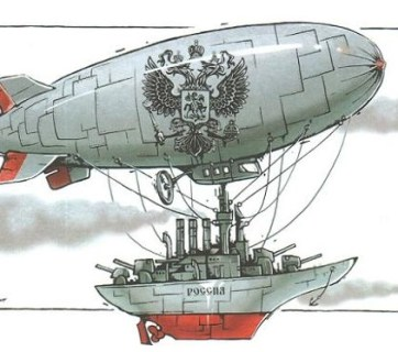 Putin's Russia - militarized and ready for imperialist aggression all over the world (Image: TTOLK.ru)