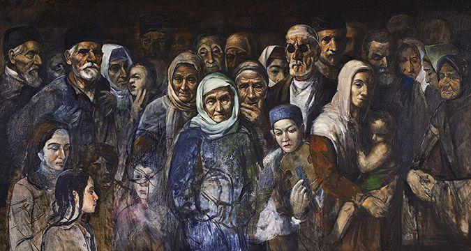 Stalin's deportation of the Crimean Tatars in 1944 (Image: QHA.com.ua)