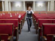 Nadiya Savchenko's first day in Verkhovna Rada (Ukrainian parliament)
