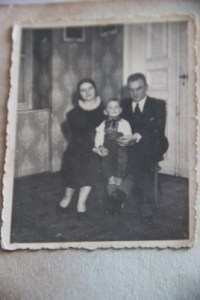 Popovych family in Warsaw