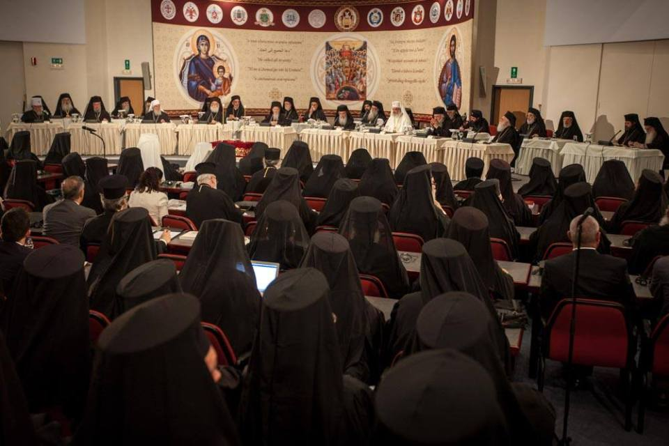 Patriarchs sat at the opening session of the Holy and Great Council in Crete. Photo: fb.com/HGCPress