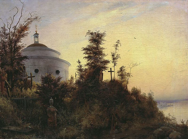 Askold's Grave by Vasily Sternberg, 1837