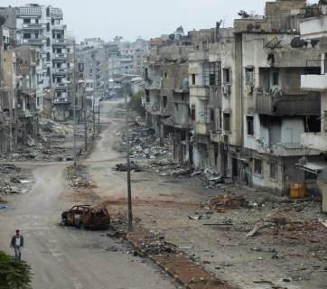 Homs, Syria (Image: Yazan Homsy / Reuters)