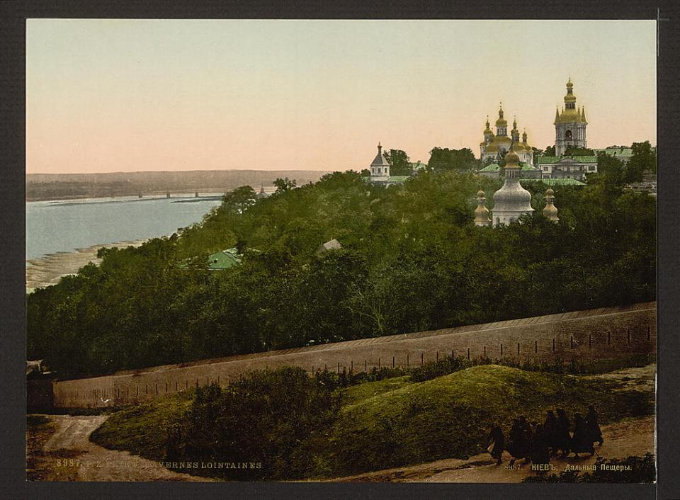 The remote caves at the Lavra in Kyiv, Ukraine circa 1890-1900. Image: Detroit Publishing Company via the Library of Congress