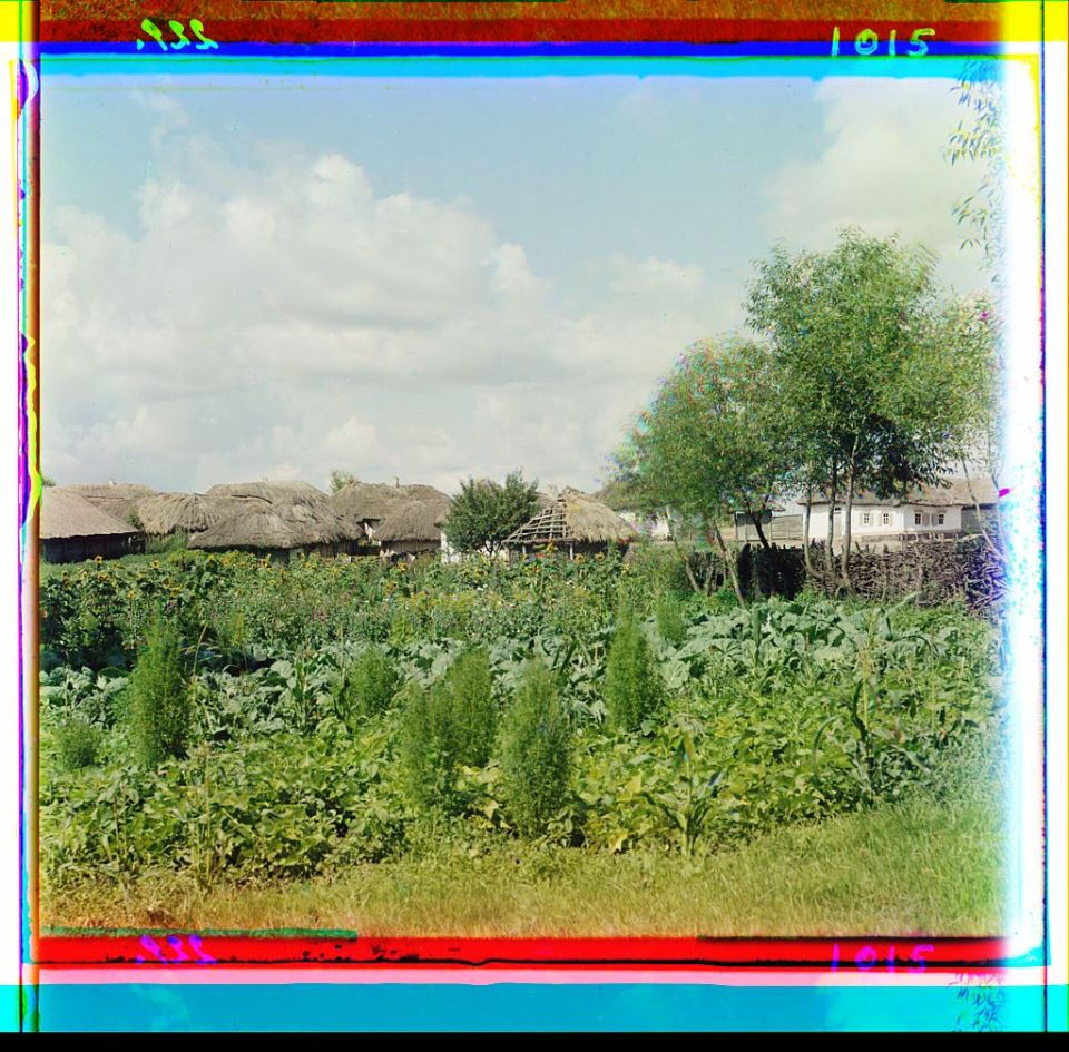 In Ukraine circa 1905-1915. Photo: Prokudin-Gorsky via the Library of Congress