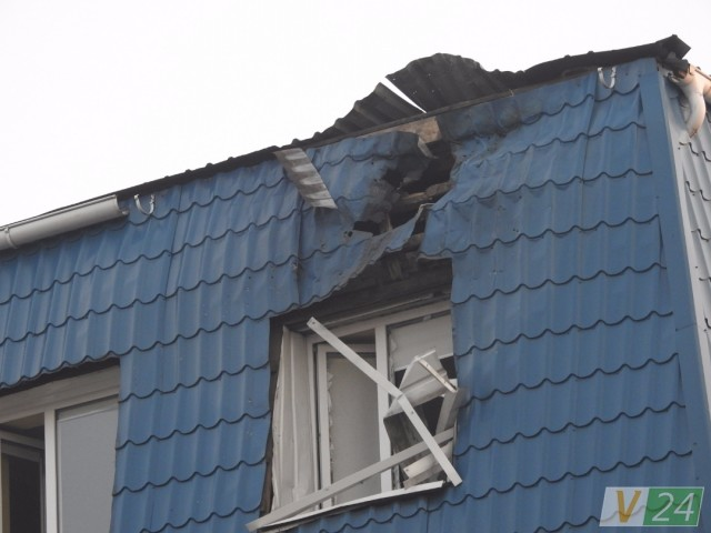 Polish consulate-general attacked in Lutsk overnight into March 29. Photo: volyn24.com