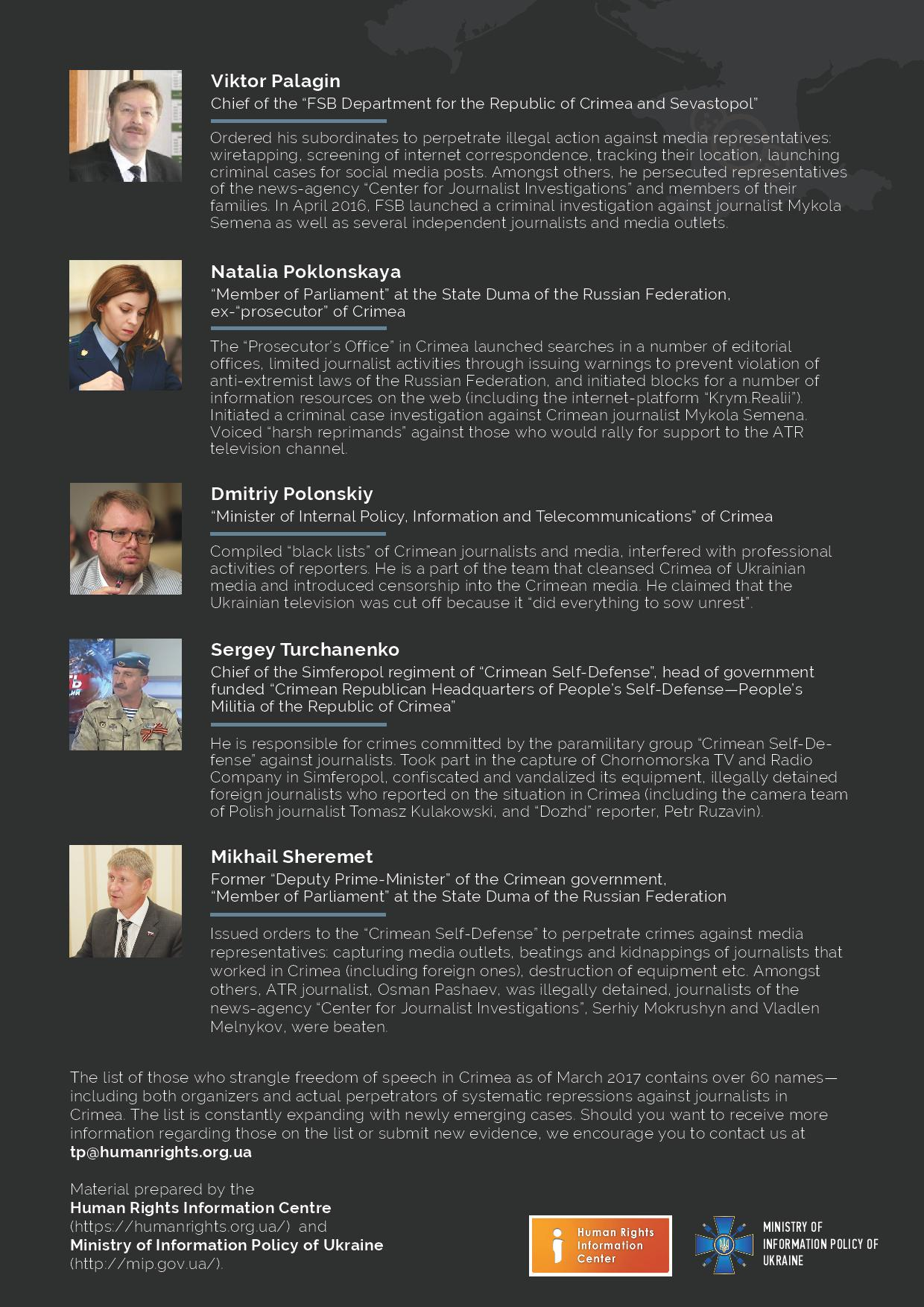 Ukraine considers sanctions against officials behind media crackdown ...