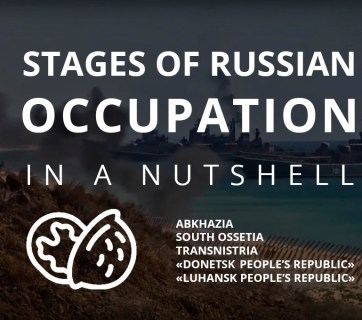 stages of the russian occupation in a nutshell
