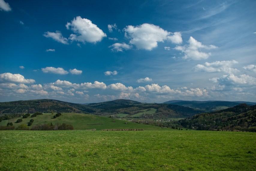 The landscape of the Bieszchady. Photo by Mirek Pruchnicki