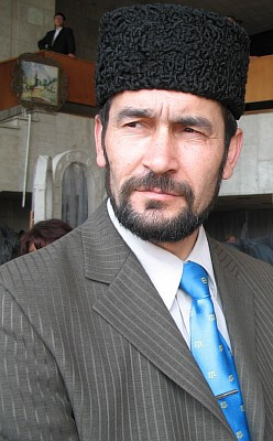 Zair Smedlyaev, head of the Kurultai of the Crimean Tatar People
