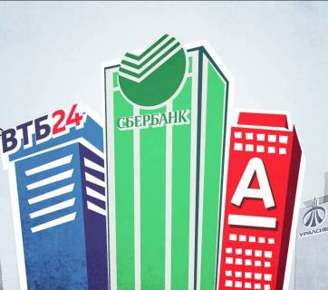 Top Russian banks. (Image: hyser.com.ua)
