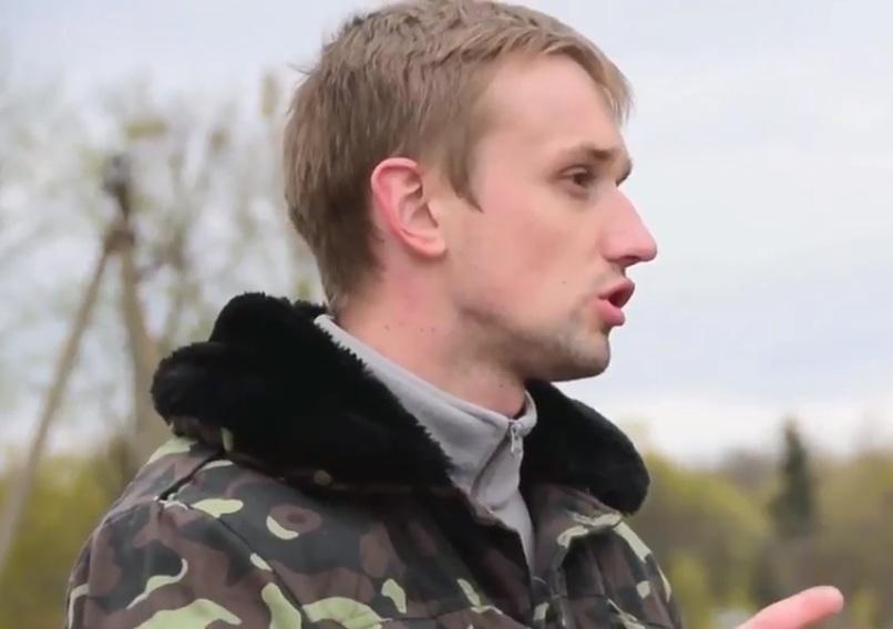 Serhii Kupriianchuk, a guide to the Chornobyl NPP Zone of Alienation