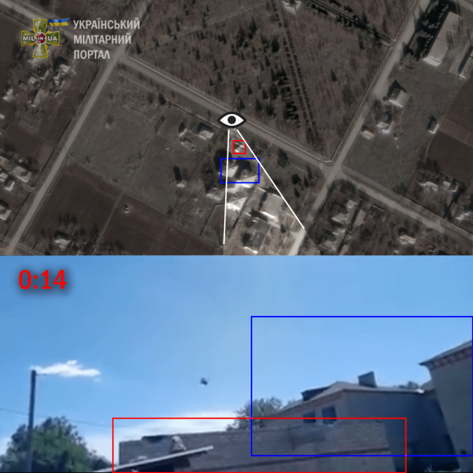 The exact location in Pavlivka, Kherson Oblast. Geolocation: mil.in.ua