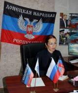 "DNR ""MP"" Yekaterina Martyanova, Photograph: oddr.info"