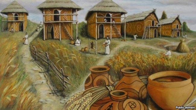 Artist's Rendition of the Trypillian Civilization