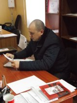 "DNR ""MP"" Vyacheslav Soloshin. Photograph: myrotvorets.center"