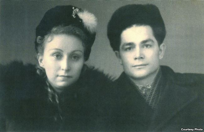 Vasyl Makukh with his wife Lydia