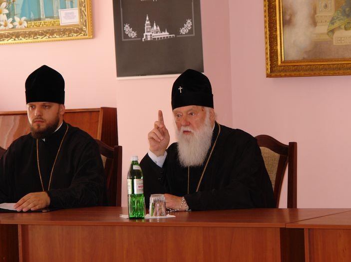 Patriarch Filaret of the UOC-KP