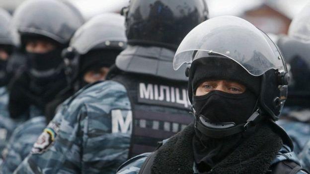 In February, 2014, the new Interior Minister Arsen Avakov liquidated the special operations unit Berkut