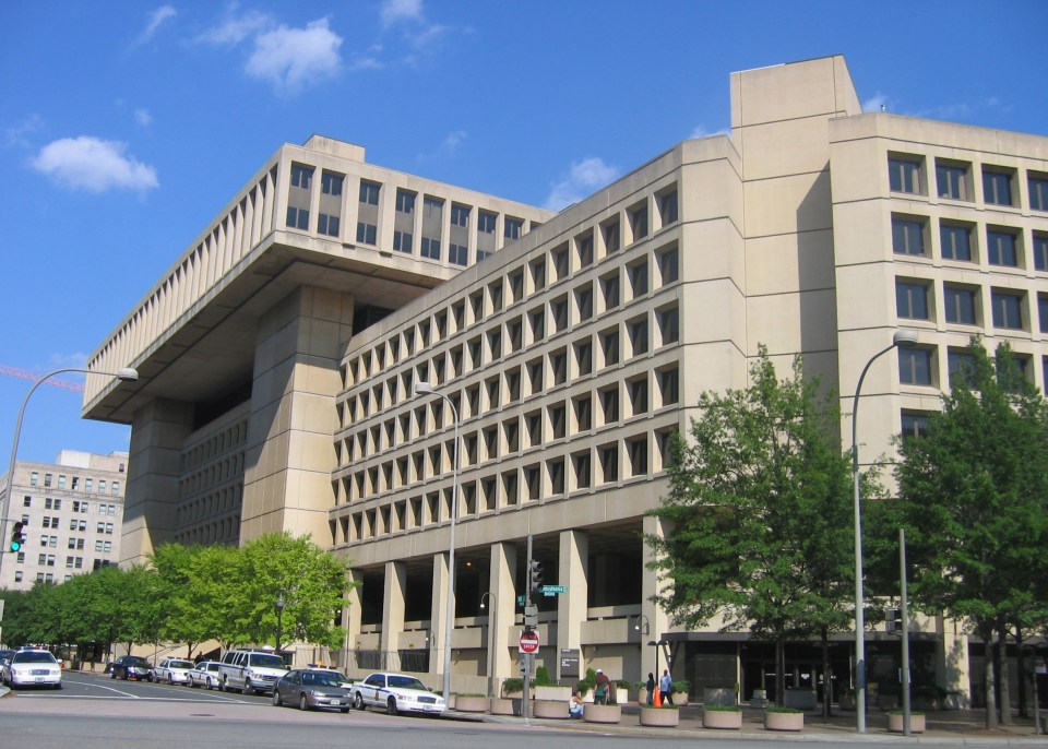 The GPU also stated that NABU was cooperating with Federal Bureau of Investigation (FBI, pictured) and said that their common operations are illegal on the territory of Ukraine. Photo: wikimedia commons