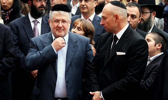 Ihor Kolomoiskyi (left) and Hennadiy Bogolyubov (right), the former owners of Privatbank. Photo: epravda.com.ua