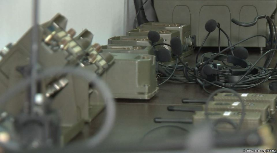 A military communication product developed by Aselsan, a Turkish company, for export to Ukraine