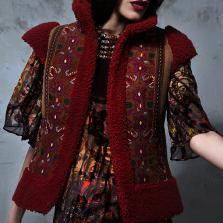 Fashion ethno wear by Roksolana Bogutska. Photograph: roksolanabogutska.com